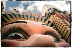 Luna Park Insanitarium (Aliceblueblazes) Tags: sydney australia lomolca lunapark freakout insanitarium tweakedin