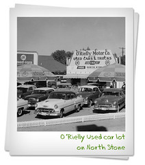 Used Car lot on North Stone
