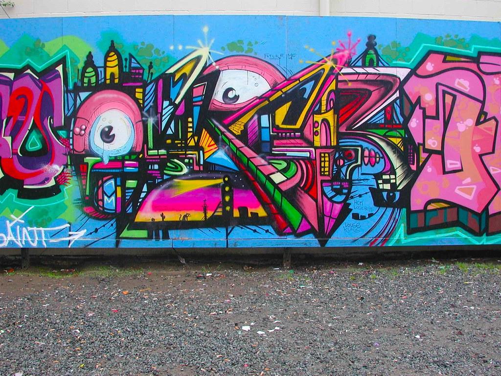 OSCR, Graffiti, Street Art, Petaluma, Free Wall, HCM