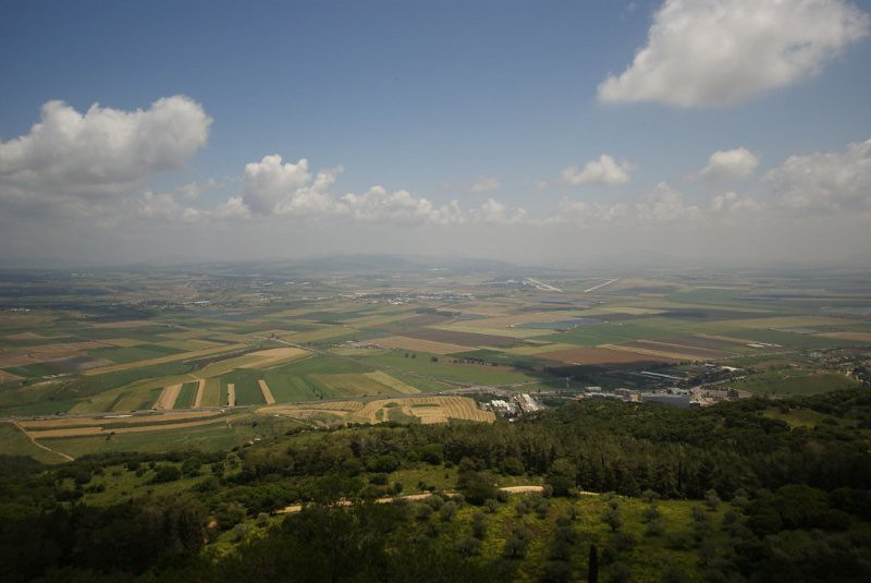 View from Mount Carmel