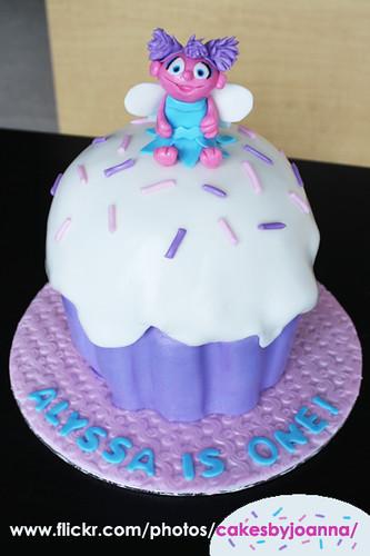 Astonishing Abby Cadabby Cake A Photo On Flickriver Personalised Birthday Cards Veneteletsinfo