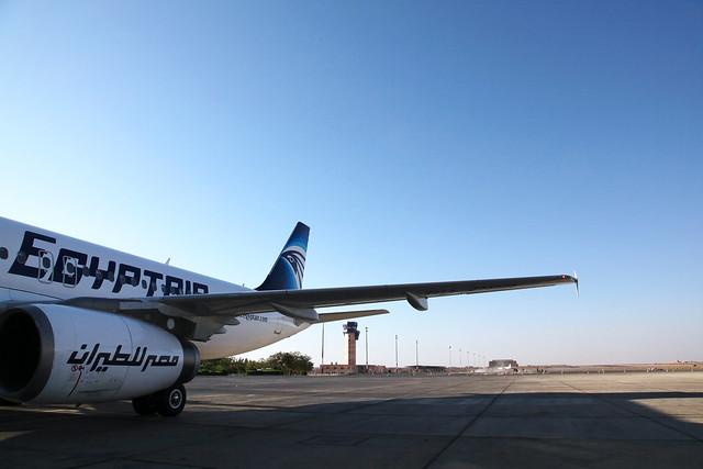 エジプト、アスワン国際空港