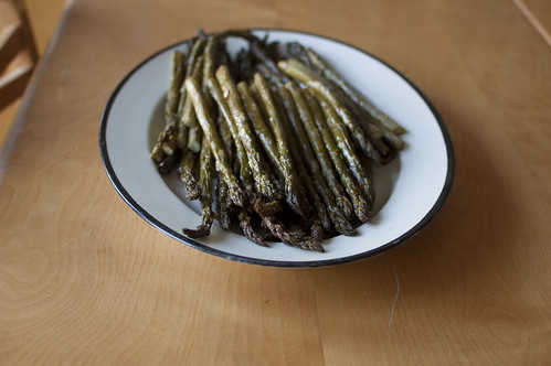 roasted asparagus, again