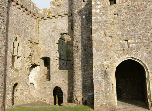 Weobley castle Gower