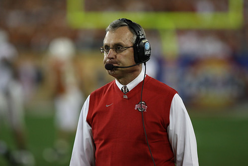 No Peyton Manning, but at least the Colts have Jim Tressel in the booth
