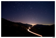 taixeta_6 (Aitor Escauriaza) Tags: road light red sky cars stars landscape lights star nikon long exposure paint skies nightlights trails s trail pollution nights contaminacion luminous coches startrails startrail d90 lumnica polucin nikon1870 starttrails aitorescauriaza luminica platinumheartaward poluci