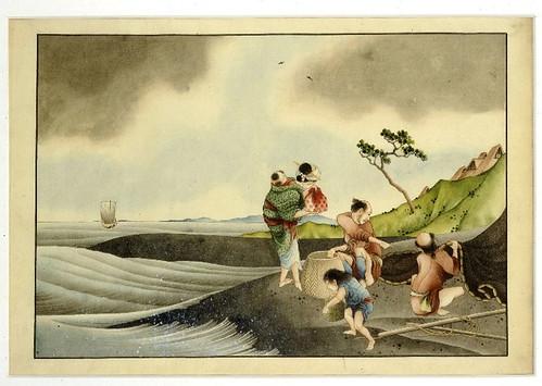 018- Pescadores a la orilla del rio