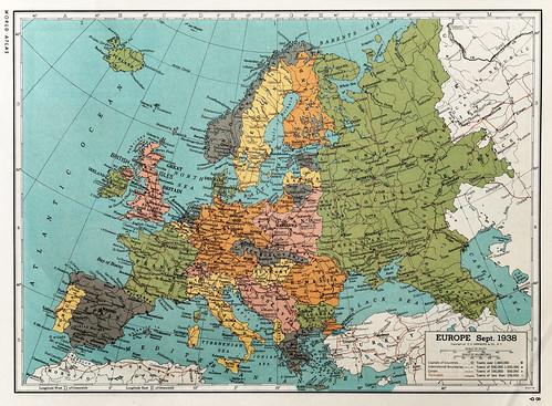 Europe sept. 1938