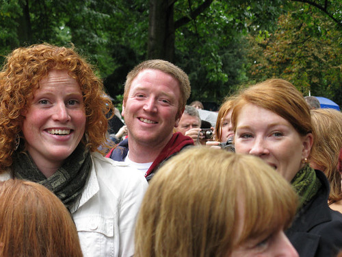 Steve, Hillary & Friends of Redhedd.com at Roodharigendag / Redhead Day
