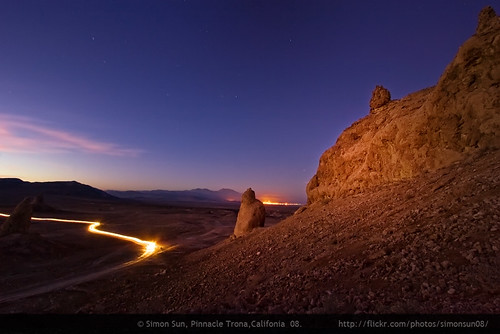 twilight on trona