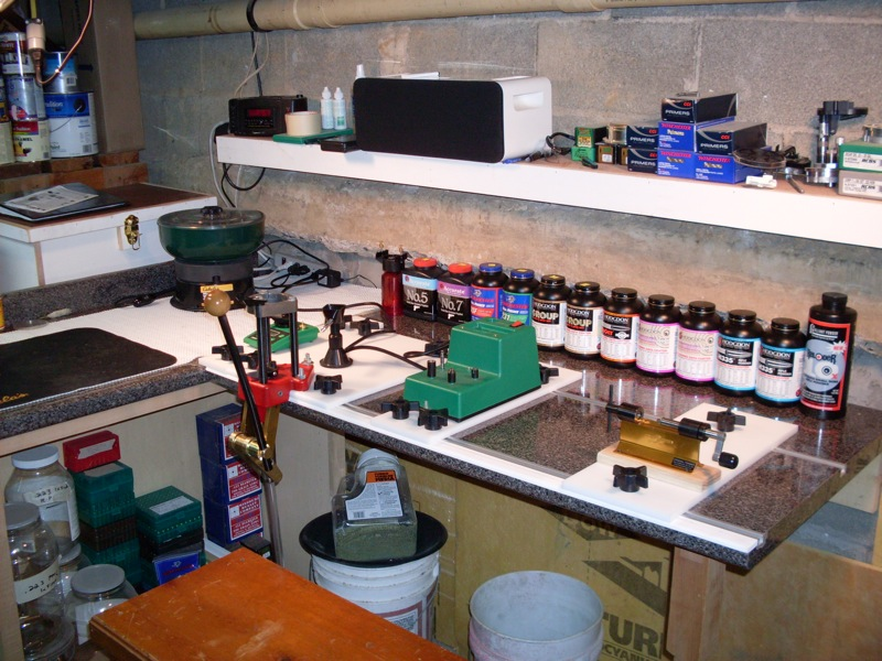 T Track Reloading Bench Official Reloading Bench Picture Thread Now With 100