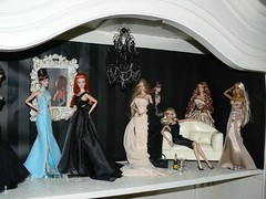 Fashion Royalty; new doll house (toomuchdolls) Tags: jason fashion club closet design doll dolls designer antique w wu fr royalty wclub