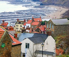 Robin Hoods Bay   North Yorkshire (keithhull) Tags: sea beach coast seaside village yorkshire explore northsea robinhoodsbay explorewinnersoftheworld seeninexplore241200960