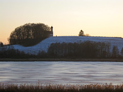 Winterabend (kosare) Tags: winter lake cold ice bayern bavaria see frosty eis ebersberg egglburgersee