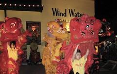 Night Lion Dance (Tygriss) Tags: chinesenewyear liondance yearoftheox houstonshaolin
