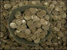 Iceni Gold Coin Hoard Found