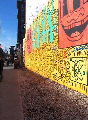 Haring Mural, NYC