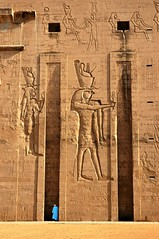 Entrance Tower Edfu Temple Egypt (BrownMatt) Tags: tower egypt edfu lptowers