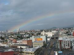 Rainbow over the East Bay