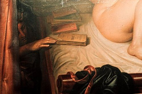la liseuse de romans (the reader of novels) detail