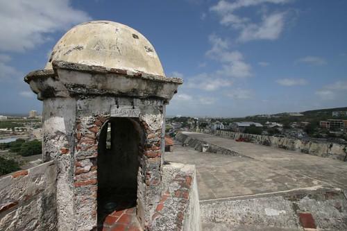 Castillo de San Felipe, Cartagena.