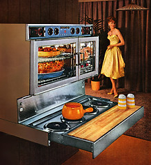 Cool Oven 1959 (MsBlueSky) Tags: vintage oven retro 1950s housewife appliance 1959 homemaker
