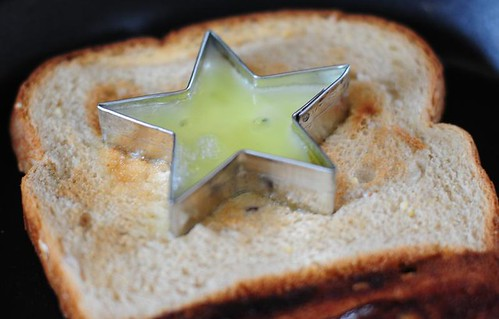 Star Egg Toast
