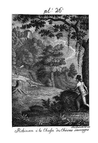 002- Robinson a la caza de cabras salvajes