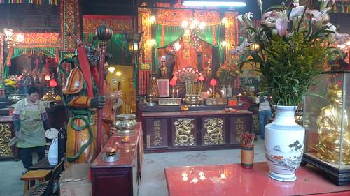 寺院の内部