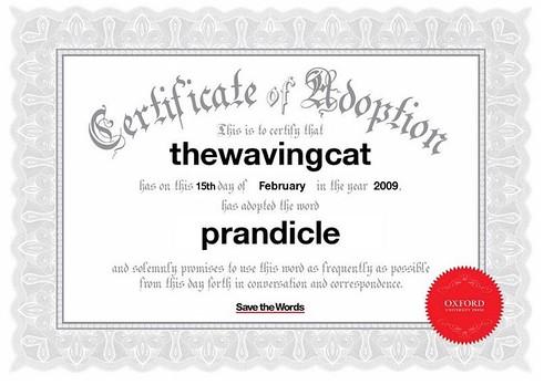 Prandicle