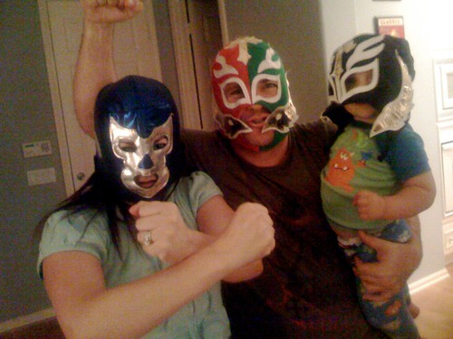 the family the lucha libres together, stays together