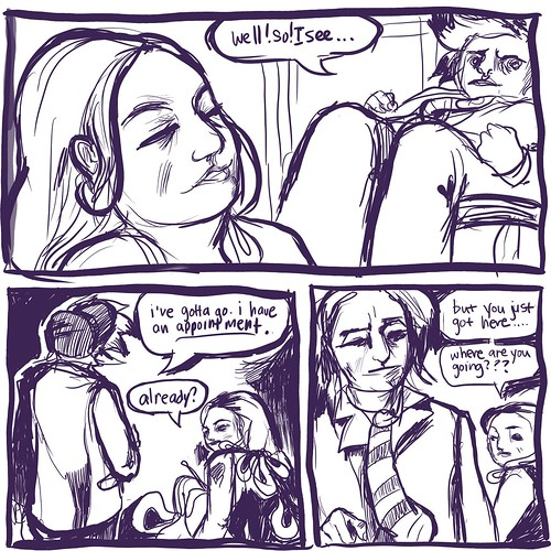 knitting scene, page 2