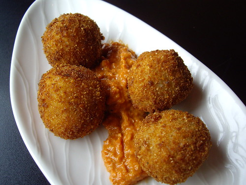 Croquettes at Maca