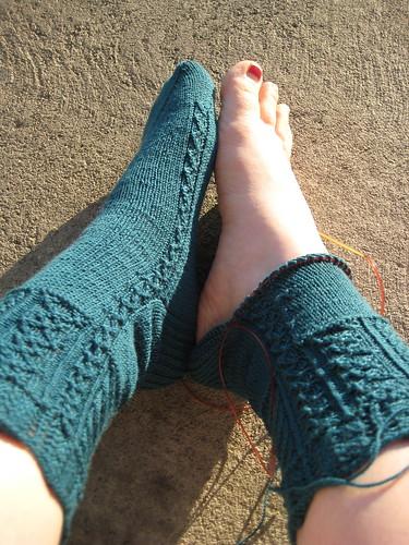 Travelers Stockings progress