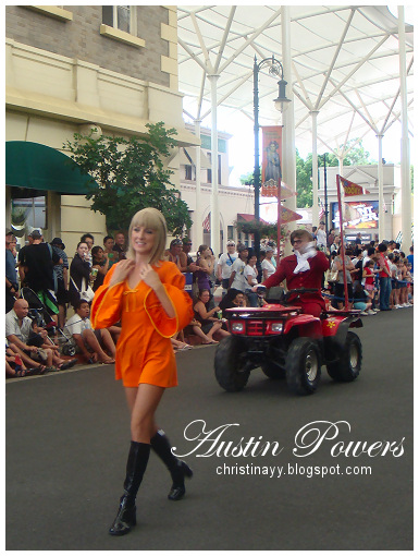 Warner Bros. Movie World: Austin Powers