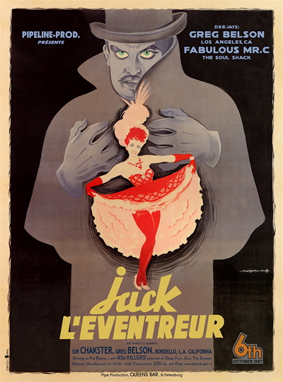Jack in French Poster