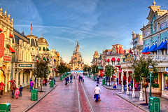 DLRP Feb 2009 - Main Street USA in the morning