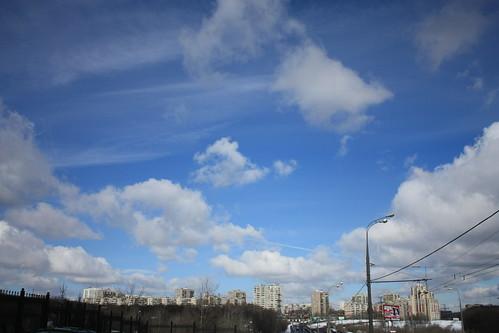 Moscow sky ©  akk_rus