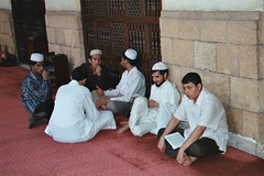 Studenti alla moschea di al-Azhar