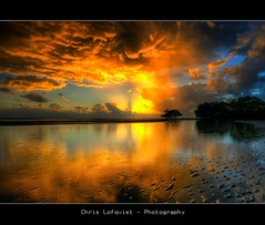 Sunshower (Christolakis) Tags: reflection sunrise sunshower soe hdr lucisart 333views blueribbonwinner sigma1020 nudgeebeach imagepoetry 6exp abigfave canon400d superaplus bestofaustralia theunforgettablepicture theperfectphotographer alemdagqualityonlyclub
