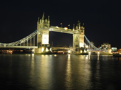 Lights all over (Sharanbm) Tags: bridge london tower thames canon nightview g9 sharana sharanbm