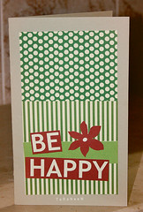 Be Happy ~   (TaRaNeeM <3) Tags: green happy card be terter    starofmay