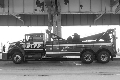 PCAR NYPD Traffic Enforcement Police Towing Truck, New York City