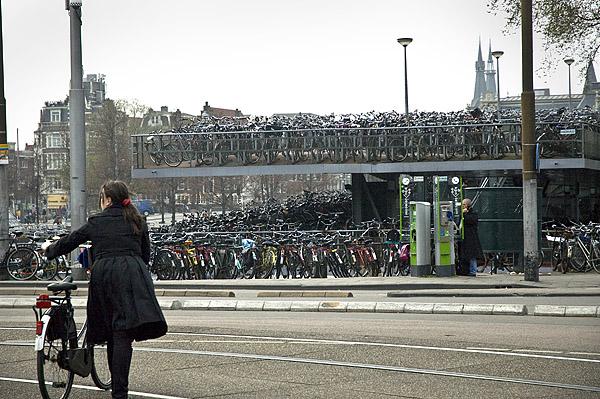 Cyklar i  A´dam