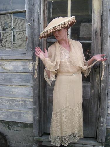 1920s lace & chiffon