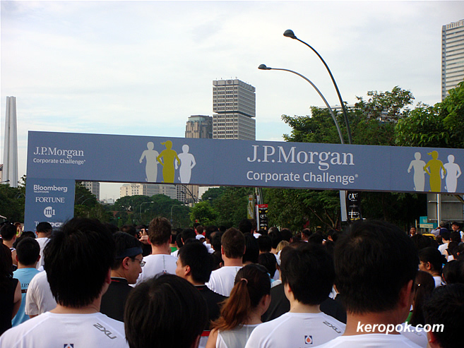 J.P. Morgan Corporate Challenge - The start