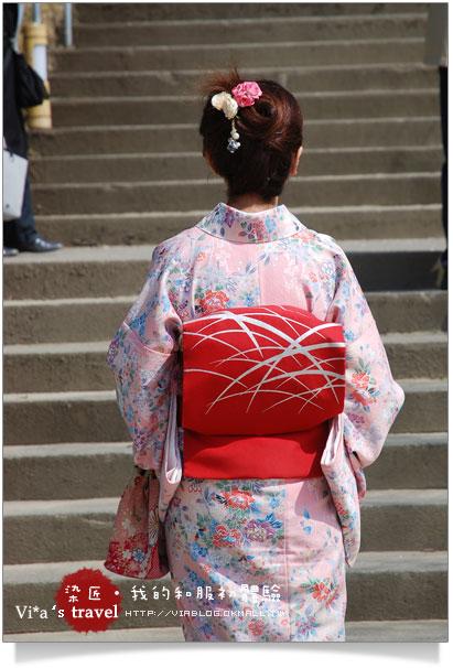 【京都賞櫻旅】京都旅遊~高台寺染匠和服體驗篇高台寺染匠和服體驗25
