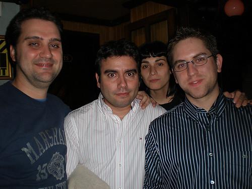 Cena SEO de Noviembre del 2008