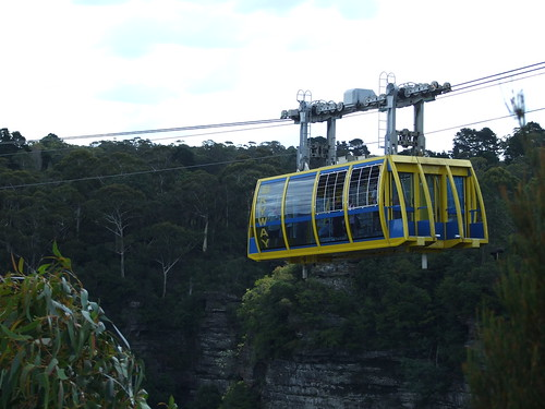 Blue Mountains - View from Scenic World
