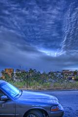 parked car sky reflection 3178 79 80 (brookville) Tags: blue sky reflection clouds marina photoshop canon reflections 28mm handheld canon5d hdr highdynamicrange hdri marinadelrey topaz lightroom photomatix tonemap hdrgroup hdraddicted totalphotoshop hdraward topazadjust thebestofhdr hdrcreativeshots hdrterrorist